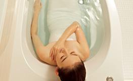 お好みの浴槽で、ひとときのくつろぎを。