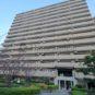 外観 総戸数83戸、SRC造、15階建のマンションです。駅まで徒歩1分圏内の立地です。