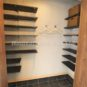 収納 玄関横に大型のシューズインクロークを設置する事も可能です。可動棚式になりますので、シューズのサイズに合わせて棚の移動が可能です。また、シューズ以外のお荷物の収納も可能。(弊社施工事例)
