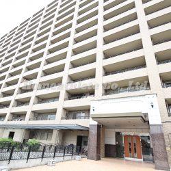 総戸数138戸という事もあり、大変迫力のあるマンションです。(外観)